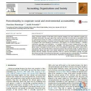 مقاله انگلیسی حسابداری