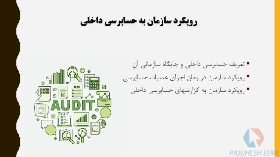 پاورپوینت جنبه های رفتاری حسابرسی داخلی